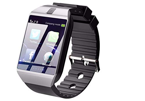 realpixel U8 Bluetooth Smartwatch Compatible with All Mobile Phones & iOS Phones for Boys and Girls (Black)