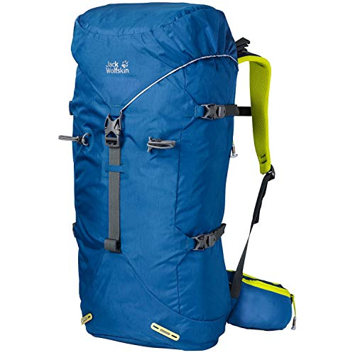 Jack Wolfskin Mountaineer Backpack Unisex Backpack - Electric Blue, One Size