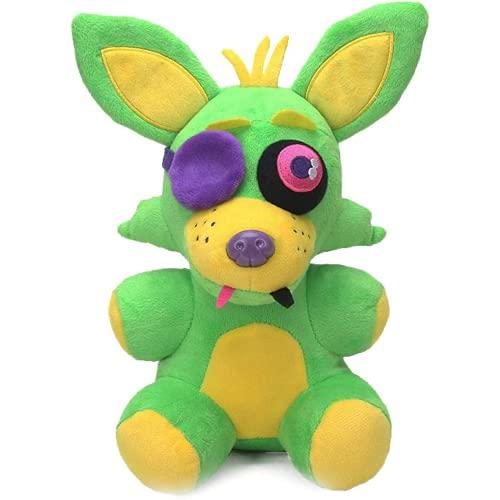 Kpcxdp 18cm Nuevo Juguete de Peluche Midnight Toy Green Fox Paper Taza Torta Black Light Collection Llush Toy Children Gift