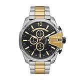 Diesel - Cronografo da uomo Mega Chief, orologio in acciaio inossidabile tritono, DZ4581