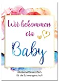 JoliCoon Meilensteinkarten Schwangerschaft DREAM - Deine aufregenden Meilensteine
