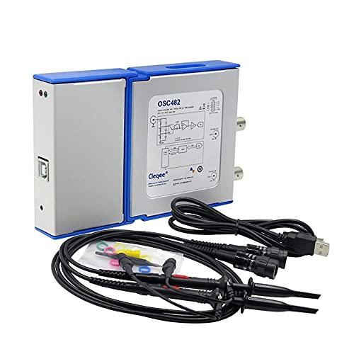 WEI-LUONG Osciloscopio USB PC Virtual Digital Osciloscopio OSC482 Android USB 2.0 Ancho de Banda 20MHz Datos de muestreo 50MSA / S osciloscopio