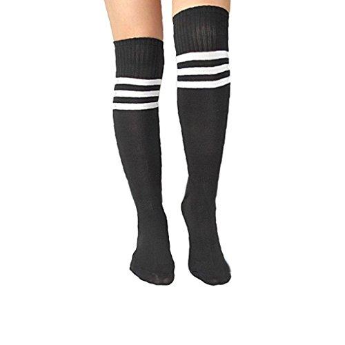 Forbestest Frauen der Männer weiche Socken Fußball Baseball Fußball über Knie