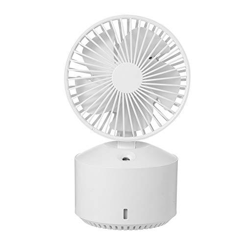 Slefpt Spray Refrigeration USB kleine ventilator luchtbevochtiger Office Desktop Student slaapzaal huis Oplaadbare Kleine elektrische ventilator draagbare oplaadbare Silent Mute