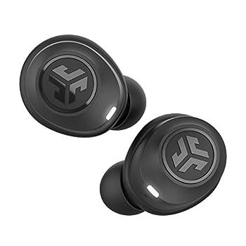 JLab JBuds Air True Wireless Signature Bluetooth Earbuds + Charging Case - Black - IP55 Sweat Resistance - Bluetooth 5.0 Connection - 3 EQ Sound Settings  JLab Signature Balanced Bass Boost