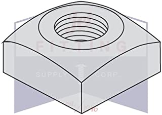 Box of 50 SHORPIOEN Regular Square Nut Zinc 1-8 BC-100NQR