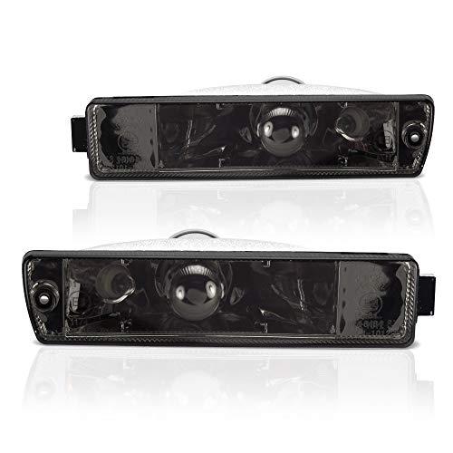 JOM Car Parts & Car Hifi GmbH 80003 Frontblinker, Blinker, mit Standlichtfunktion, Klarglas/schwarz