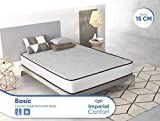 Imperial Confort Basic - Colchón Viscoelástico acolchado -...