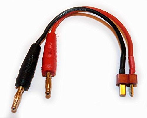 Ladekabel T Plug Stecker auf 4mm Bananenstecker