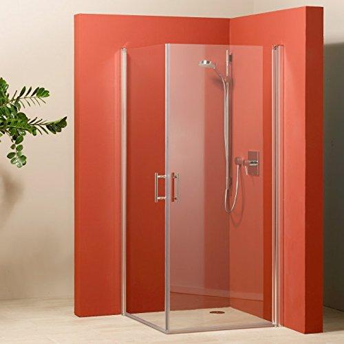 GEO Made for You Eckeinstieg mit 2 Türen 90cm inkl. Glasbeschichtung