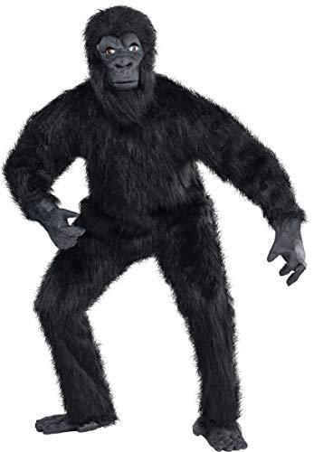 amscan Standard Adult Gorilla Guy Costume, Multicolor