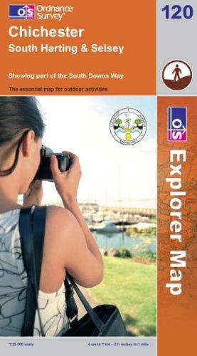OS Explorer map 120 : Chichester