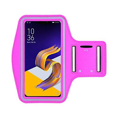 Brazalete deportivo para teléfono móvil para correr, gimnasio, entrenamiento, banda elástica ajustable, ranura para llave para Galaxy J3 2016 5 pulgadas