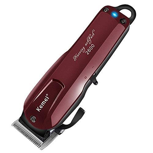 Kit completo de corte de pelo para hombre, recargable, eléctrico, cor