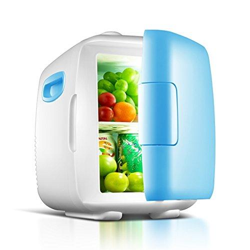 PIGE 4L 12V DC 220V AC Dual-Core-Kühlung Heizung Kühlschrank Kühlschrank Mini-Kühlschrank Kleine Startseite Mikro-Kühlschrank Auto Dual-Use-Kühlschrank (Farbe : A)