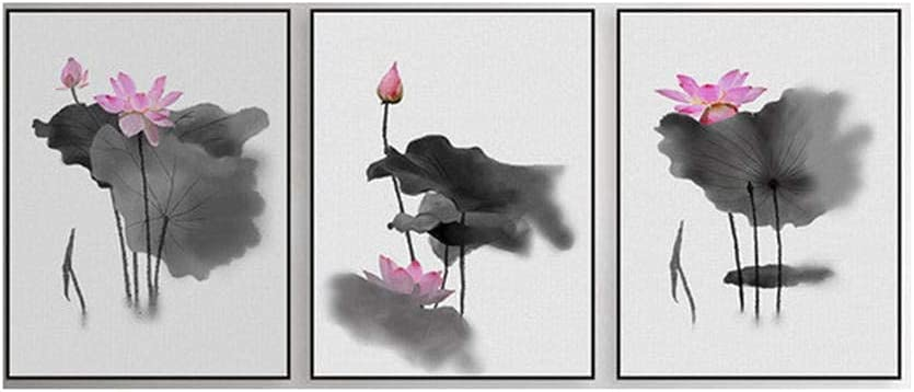 KUTTNU Flower Posters Modern Reservation Office Chinese Max 78% OFF Calligraphy Painting