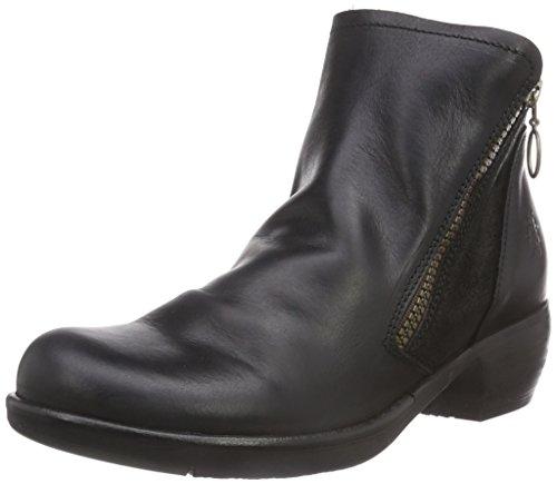 Fly London Meli, Damen Chelsea Boots, Schwarz (Black 007), 37 EU (4 Damen UK)