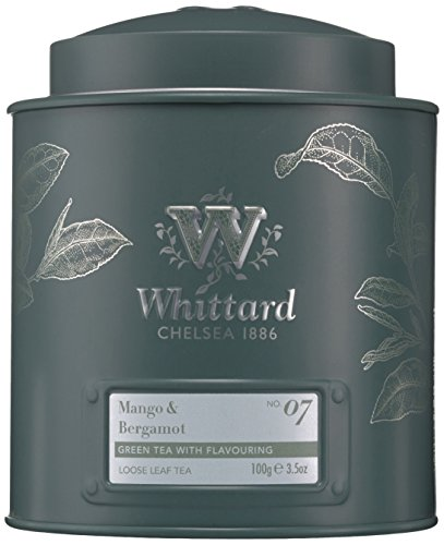 Whittard of Chelsea Mango und Bergamot Loose Leaf Tea Caddy, 1er Pack (1 x 100 g)
