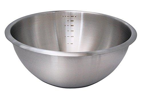 DE BUYER -3373.20 -bassine 1/2 sph. inox fd silicone ø 20