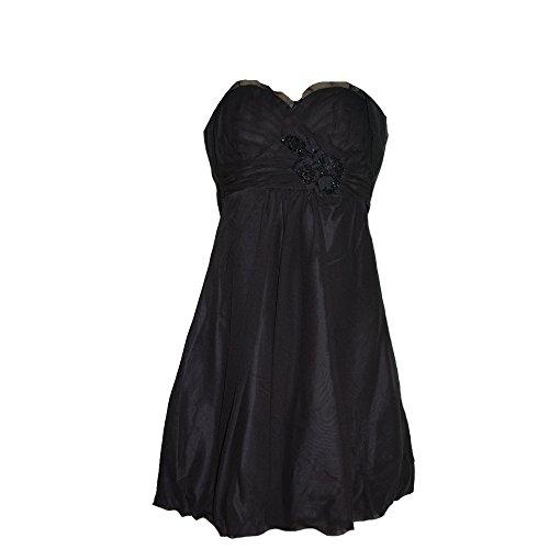 JuJu & Christine - Abendkleid Festkleid Kleid, schwarz, Größe 38