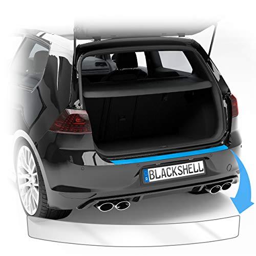 Blackshell® Ladekantenschutz Folie inkl. Premium Rakel passend für Golf 7 Variant | Typ AU | Bj. 2012-2019 Transparent - passgenaue Lackschutzfolie