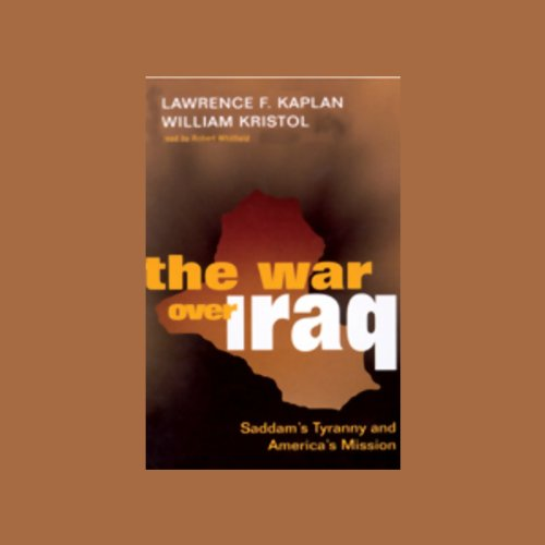 The War Over Iraq audiobook cover art