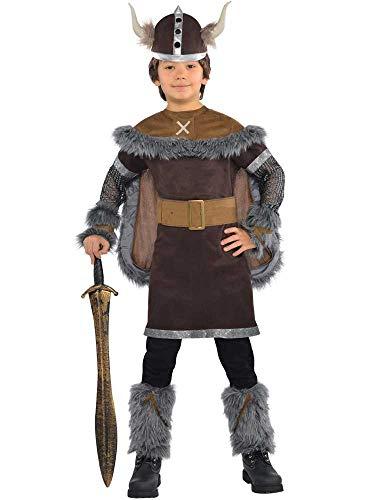 amscan- Deguisement Viking ADO 12-14 Ans, 999663