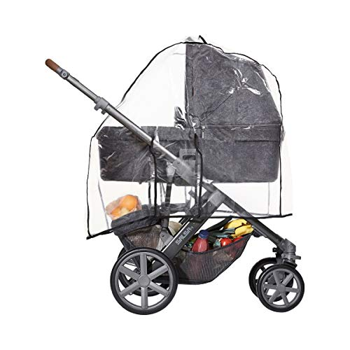 ABC Design 984100 Plus Regenverdeck für Kinderwagen, Clear