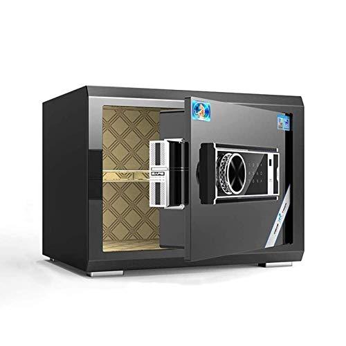 Cajas fuertes para gabinetes, caja fuerte electrónica antirrobo digital de lujo, caja fuerte de acero con apertura automática, caja fuerte de seguridad para el hogar con diseño de moda para negocios d