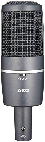 AKG C 4000 B Großmembran Kondensatormikrofon mit Muster