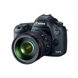 Canon EOS 5D Mark III 22.3 MP Full Frame CMOS Digital SLR Camera with EF 24-105mm f/4 L IS USM Lens
