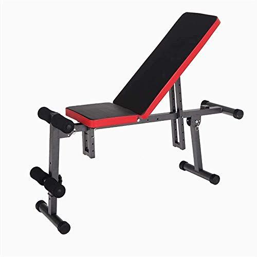 nobrand Kurzhanteln Sit-Up Bank Muskeln Hantelbank Hantelbank Verstellbare Rückenbrett Sit-up Fitnessausrüstung Haus Bauch Multifunktionsbauch for Ganzkörpertraining