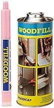 ADLER Woodfill reparatieplamuur 1350 g wit spatel grond