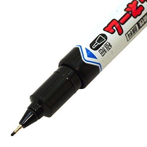 三菱鉛筆uni油性なまえペンパワフルネーム細字丸芯+極細黒[1本]PNA155T1P.24