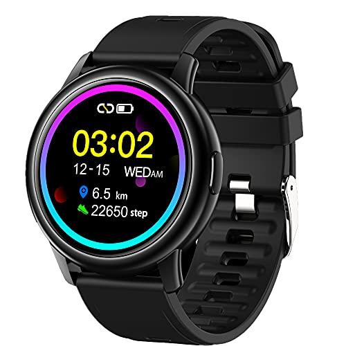YHD Smart Watch, Pulsera Actividad Smartwatch,Reloj Inteligente con Pulsómetro,Reloj Inteligente Impermeable IP68 Regalo para Mujer Hombre niños,Regalo para Mujer Hombre niños