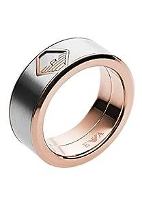 Emporio Armani Herren-Ringe Edelstahl mit '- Ringgröße 61 EGS2635040-10