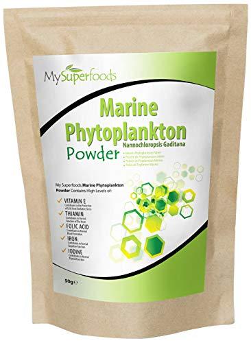 MySuperfoods Marine Phytoplankton Powder 50g, Natural Omega-3 Source