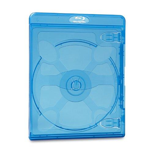 Verbatim Blu-Ray DVD Blue Cases - 30pk - 98603