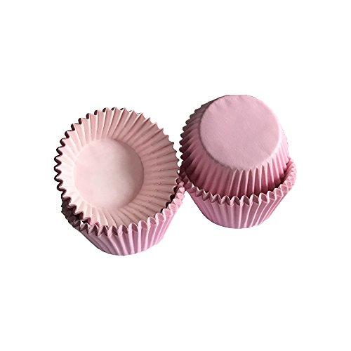 Tasty Cooky Shop Lot de 40 mini caissettes à muffins en papier Rose