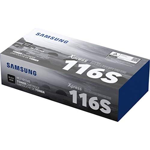 Samsung MLT-D116S SU840A Cartuccia Toner Originale Standard, 1.200 Pagine, Compatibile con Stampanti Samsung Laserjet Monocromatiche Serie Xpress M2625, M2675, M2835, M2875 e M2885, Nero