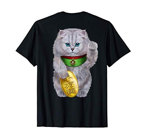 Chat porte-bonheur japonais Maneki Neko T-Shirt