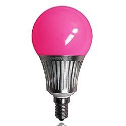LIGHTEU 1x WLAN LED Lampe original, 5 W, E14, 450LM, dimmbar, Farbwechsel Glühbirne,RGBW/ RGBCCT, fut013, LT-5W-RGB