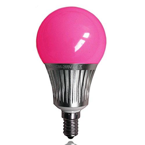 LIGHTEU 1x WLAN LED Lampe original, 5 W, E14, 450LM, dimmbar, Farbwechsel Glühbirne,RGBW/RGBCCT, fut013, LT-5W-RGB