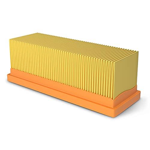 Flachfaltenfilter Ersatz für Kärcher 6.414-498.0 Abluftfilter Hepa-Filter Lamellenfilter Zubehör Ersatzteile für Staubsauger/Bodenstaubsauger/Nassstaubsauger/Trockensauger/Mehrzwecksauger
