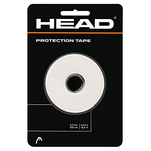 Head Protection Tape Cinta Protectora, Unisex Adulto, Blanco, Talla única