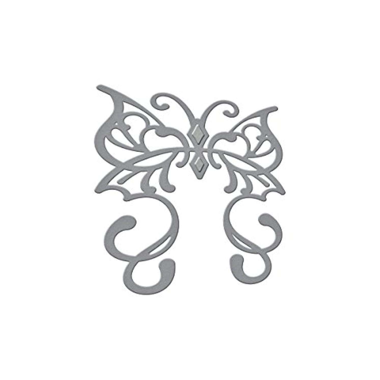 Spellbinders Die D-Lites Butterfly Rebel Rose Etched/Wafer Thin Dies