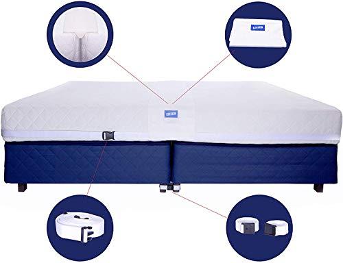 Bed Bridge Premium Gap Filler for Twin Beds Converter Kit Bed Connector Twin Mattresses