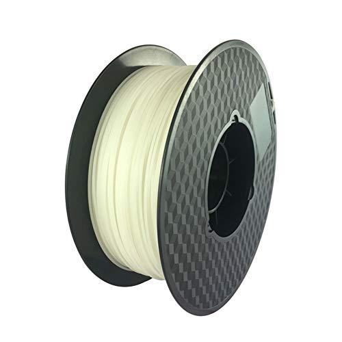SRY-Holster HH-DYHC, 1pc Glass Fiber 1.75mm 3mm High Transparency P-Glass Filament, PC & PETG Composite 3D Printer Filament Better Than ABS PLA (Color : 100g 1.75mm natural)
