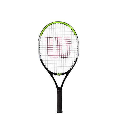 Wilson Racchetta da tennis Blade Feel 23, Per bambini di 7 - 8 anni, Alluminio/Fibra di vetro