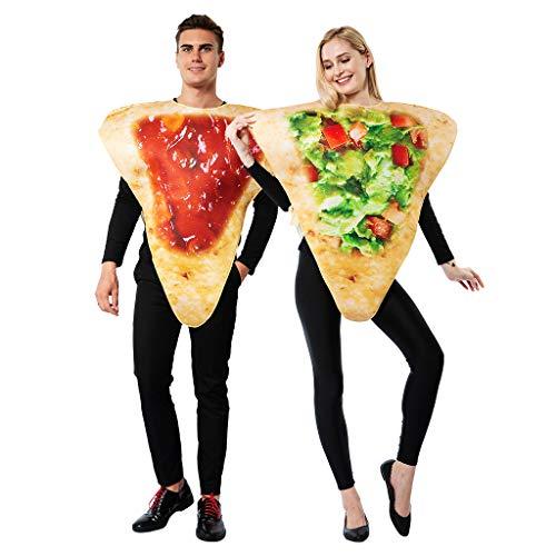 EraSpooky Unisex Essen Lebensmittel Kostüm Halloween Party Karneval Fastnacht Faschingskostüme für Erwachsene Herren Damen